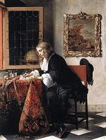 245pxgabriel_metsu__man_writing_a_l